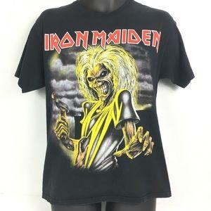 Iron Maiden Killers Band Tee Size adult Medium